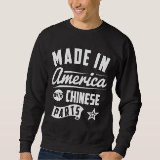Hecho en América con las piezas chinas Sudadera