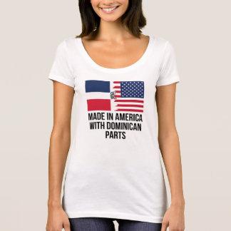 Hecho en América con las piezas dominicanas Camiseta