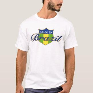"""""""Hecho en camiseta del Brasil"""""""