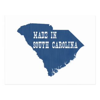 Hecho en Carolina del Sur Postal