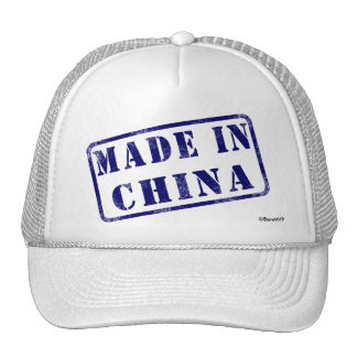 Hecho en China Gorra