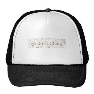Hecho en China Gorras