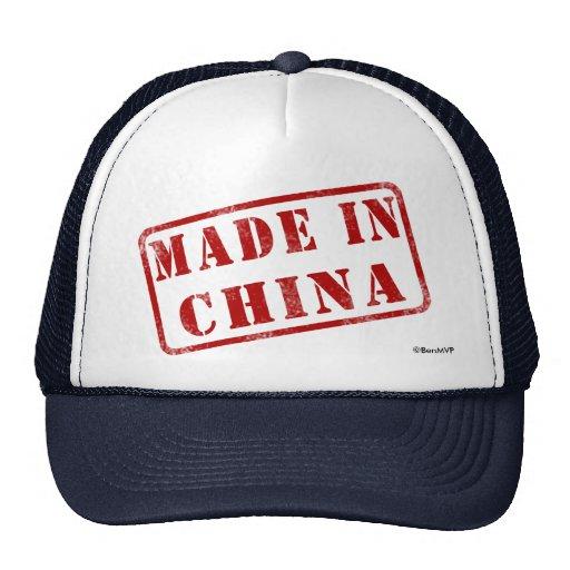Hecho en China Gorras De Camionero