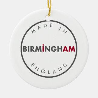 Hecho en el ornamento de Birmingham