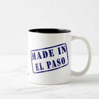 Hecho en El Paso Tazas