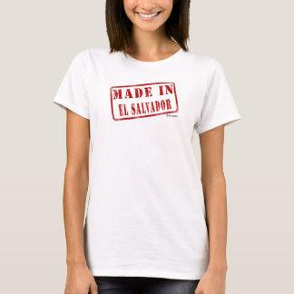 Hecho en El Salvador Camiseta