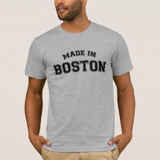 Hecho en la ciudad de la camiseta de Boston
