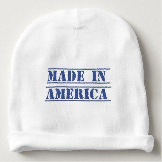 Hecho en la gorrita tejida de América Gorrito Para Bebe