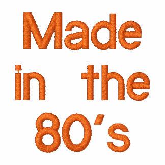 Hecho en los años 80 sudadera con capucha