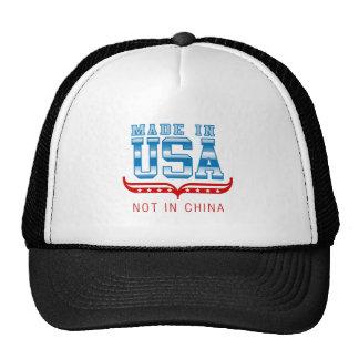HECHO EN LOS E.E.U.U. .NOT EN CHINA GORRAS DE CAMIONERO