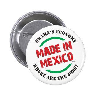 Hecho en México Chapa Redonda De 5 Cm