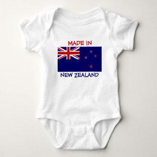 Hecho en Nueva Zelanda con la bandera de Nueva Body Para Bebé