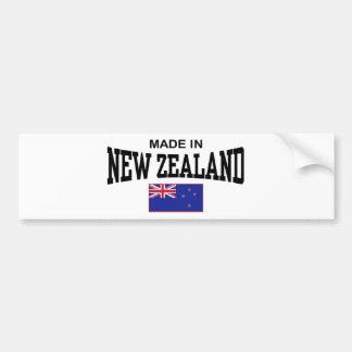 Hecho en Nueva Zelanda Pegatina Para Coche