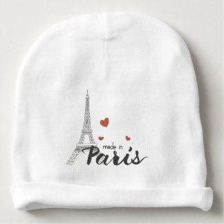 Hecho en París con la torre Eiffel Gorrito Para Bebe