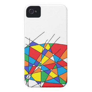 Hecho en pintura iPhone 4 Case-Mate cárcasas