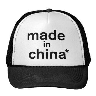 HECHO EN ropa de CHINA* Gorras De Camionero