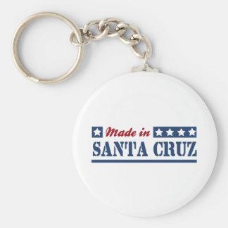 Hecho en Santa Cruz Llavero Personalizado