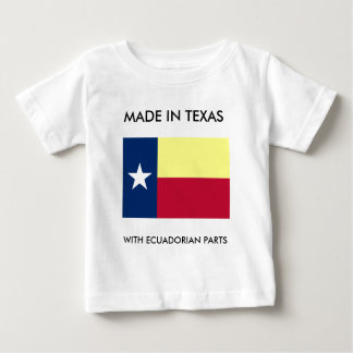 Hecho en Tejas con las piezas del Ecuadorian Camisas