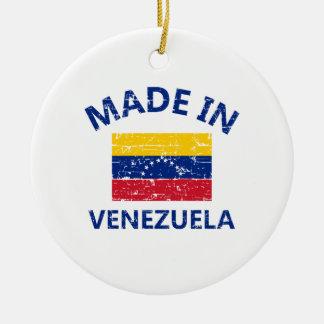 Hecho en Venezuela Ornamento Para Arbol De Navidad