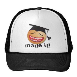 hecho le la graduación gorras de camionero