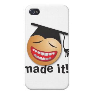 hecho le la graduación iPhone 4 cárcasa