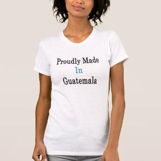 Hecho orgulloso en Guatemala Camiseta