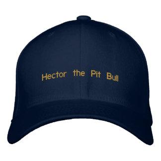 Hector el gorra del pitbull gorras de beisbol bordadas