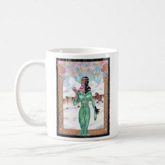 Hel, diosa de la muerte taza de café
