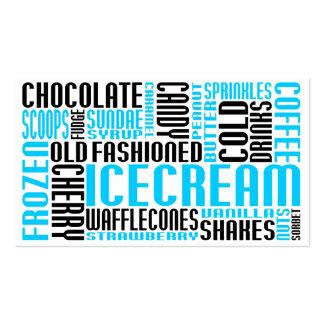 helado (charla del chit) tarjetas personales
