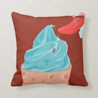 helado cojín decorativo