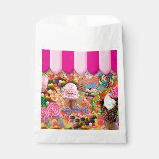 Helado del dulce dieciséis del caramelo lindo bolsa de papel