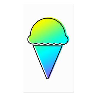 helado del oddRex Tarjetas De Visita