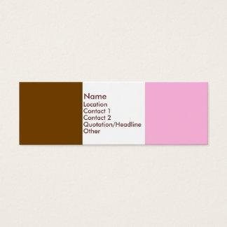 Helado napolitano tarjeta de visita pequeña