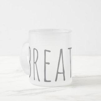 helado respire la taza del amor