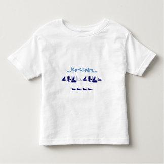 … helado…, yum, yum ..... camisas
