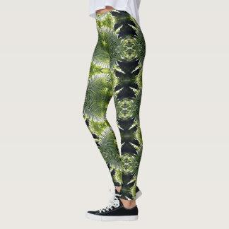 Helechos enrrollados leggings