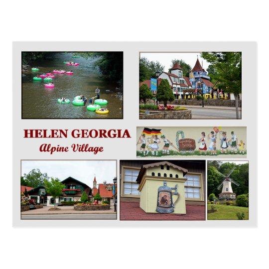 Helen, postal de Georgia