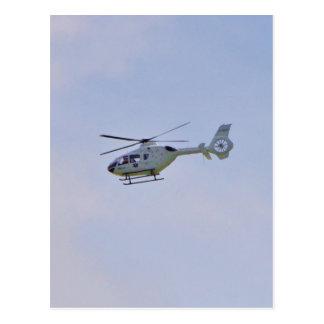 Helicóptero médico postal