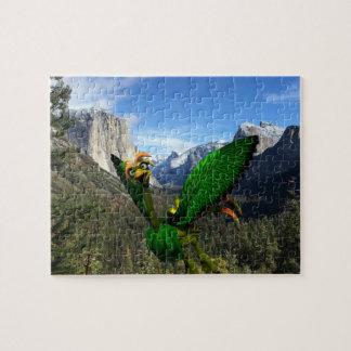 """Helios en el rompecabezas 8"""" de Yosemite pedazos"""