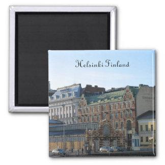 Helsinki Finlandia Imán Cuadrado