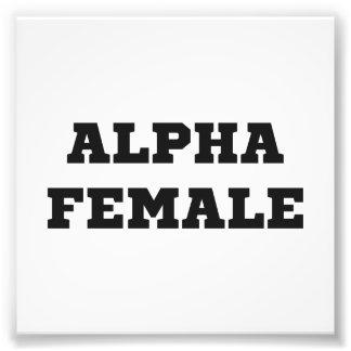 Hembra alfa fotos