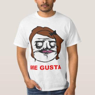 Hembra de Brown yo cara cómica Meme de la rabia de Camisas