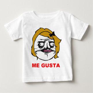 Hembra rubia yo cara cómica Meme de la rabia de Camiseta