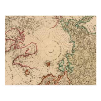 Hemisferio norte, ártico postal