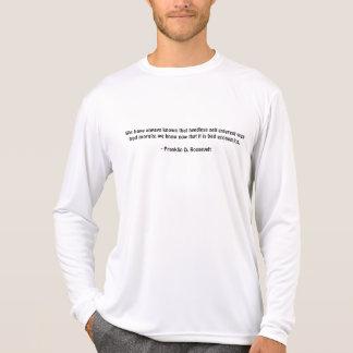 Hemos conocido siempre a ese uno mismo-interes camiseta