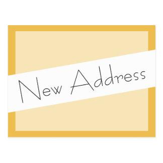 Hemos movido la nueva dirección postal