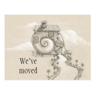 Hemos movido la nueva postal de la casa del caraco