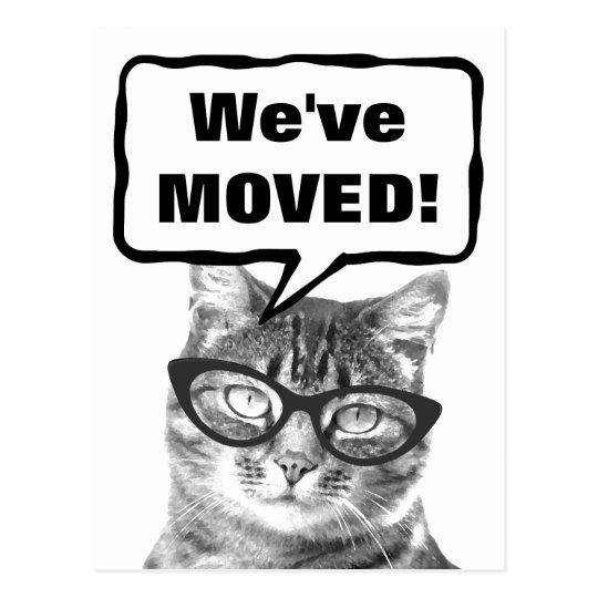 Hemos movido las postales móviles con el gato