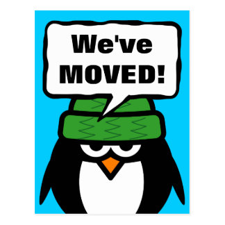 Hemos movido las postales móviles con el pingüino