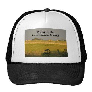 Henar de la sol, orgulloso ser un granjero america gorros